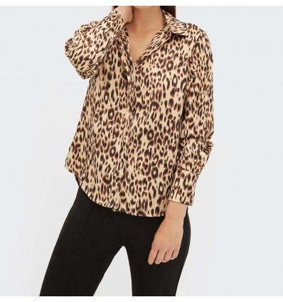 Blusa Estampada Animal Print