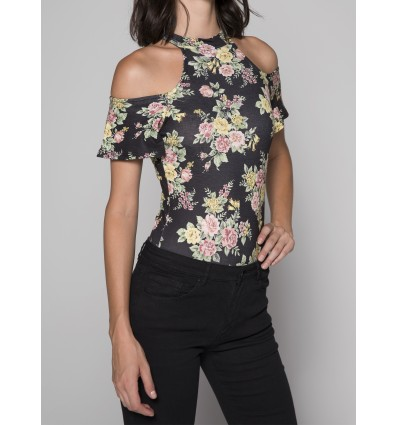 BODY OFF SHOULDERS ESTAMPADO FLORAL